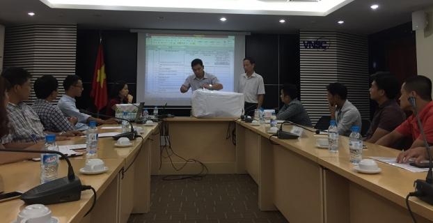 """Lễ mở thầu – phần đề xuất kỹ thuật Gói thầu XD3-DATP5  """"Thi công xây dựng và lắp đặt thiết bị các hạng mục công trình tại  Khu Nam Trung tâm Vũ trụ Việt Nam"""""""