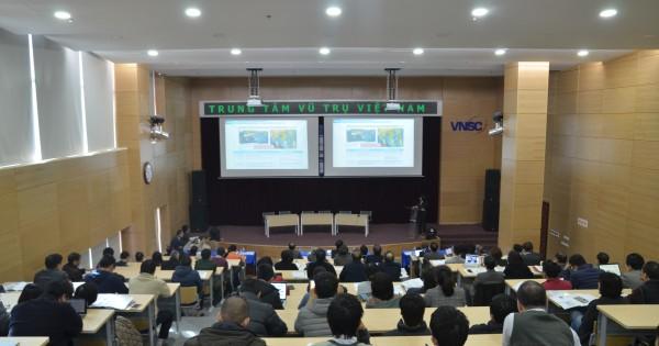 "Workshop ""Proposal for Vietnam's long term master plan for earth observation using satellites""      on 11/1/2018"