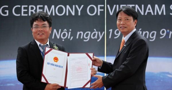 Le khoi cong du an TTVTVN 1